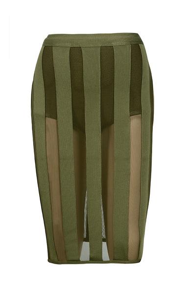 khaki rodrigo dress