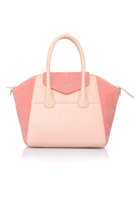 Perfection Peach Genuine Leather Handbag