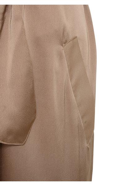 coryn coat in rose gold