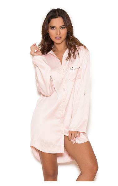 Sleep Baby Pink Nightshirt