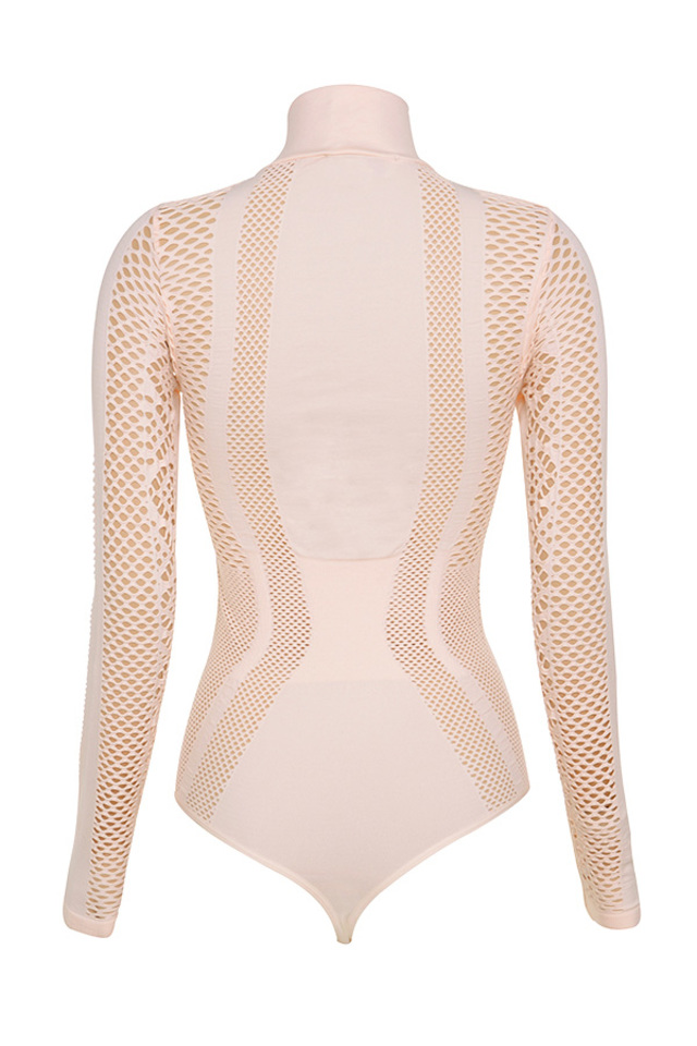 ayanna bodysuit in blush