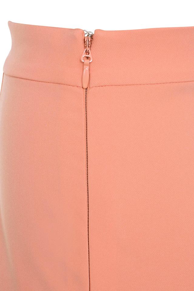 peach calle trousers