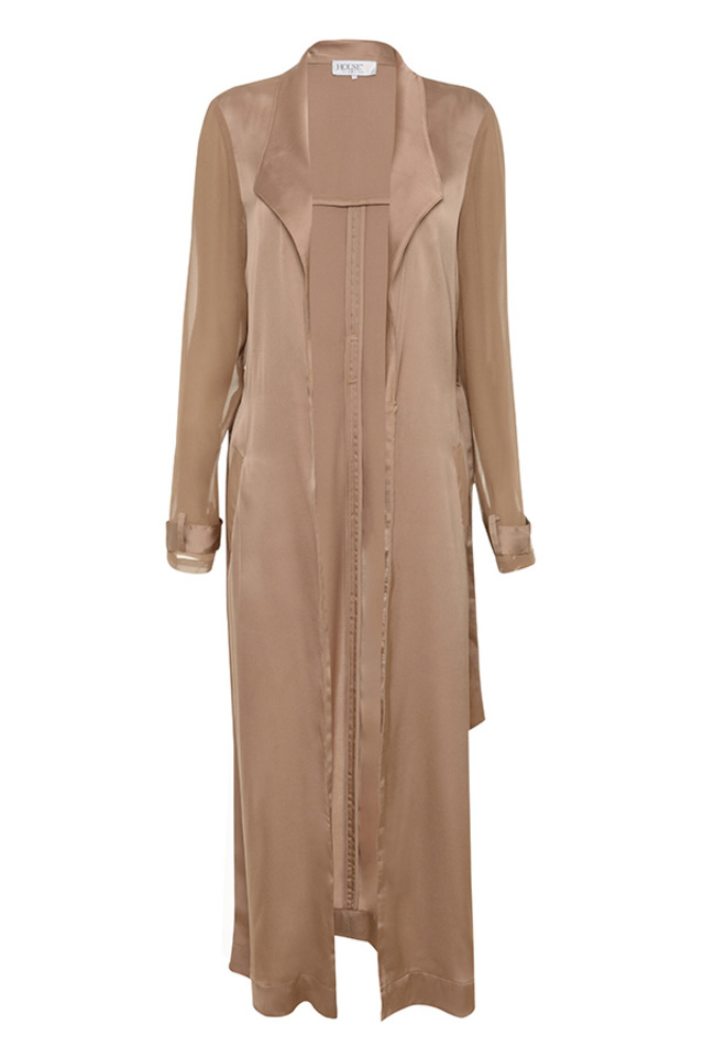 rose gold coryn coat