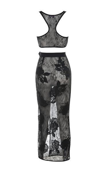 carlis dress in black
