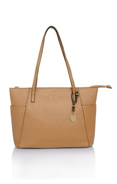 Casa Tan Leatherette Tote Bag