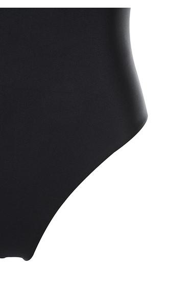 black fit bodysuit