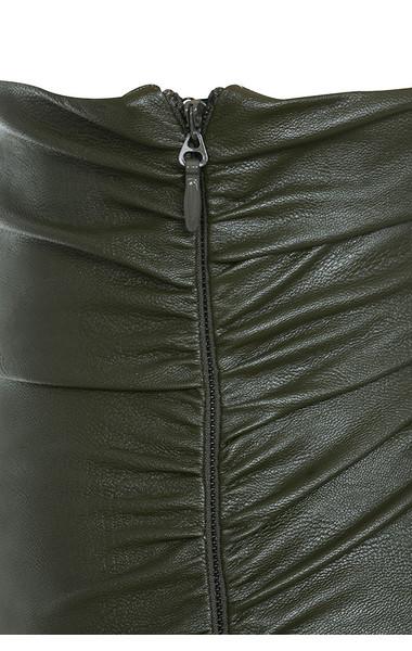 khaki kori skirt