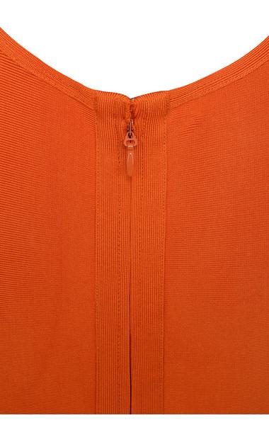 martinique orange dress