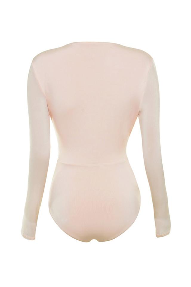 lorenza bodysuit in pink