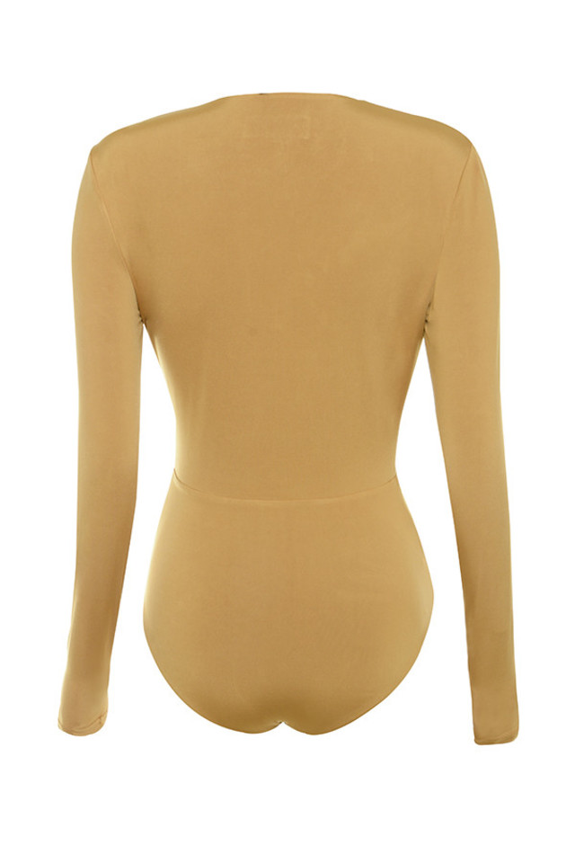 lorenza bodysuit in tan