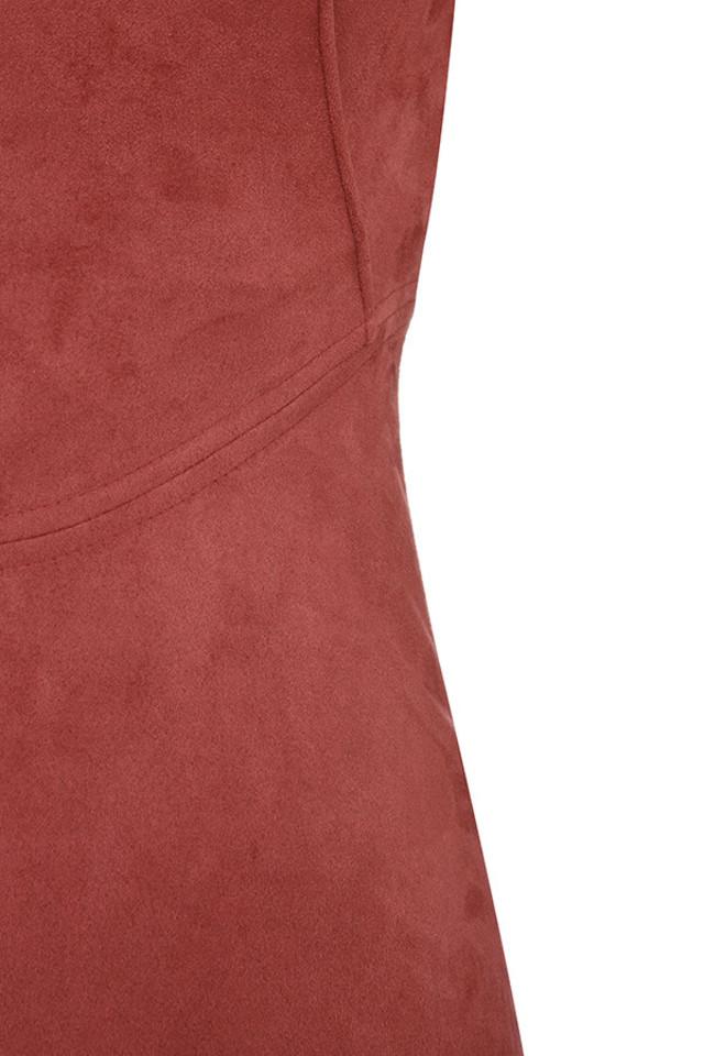 rust shamala dress