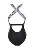 fit bodysuit in black