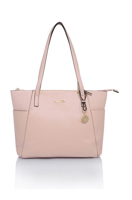 Casa Pale Pink Leatherette Tote Bag
