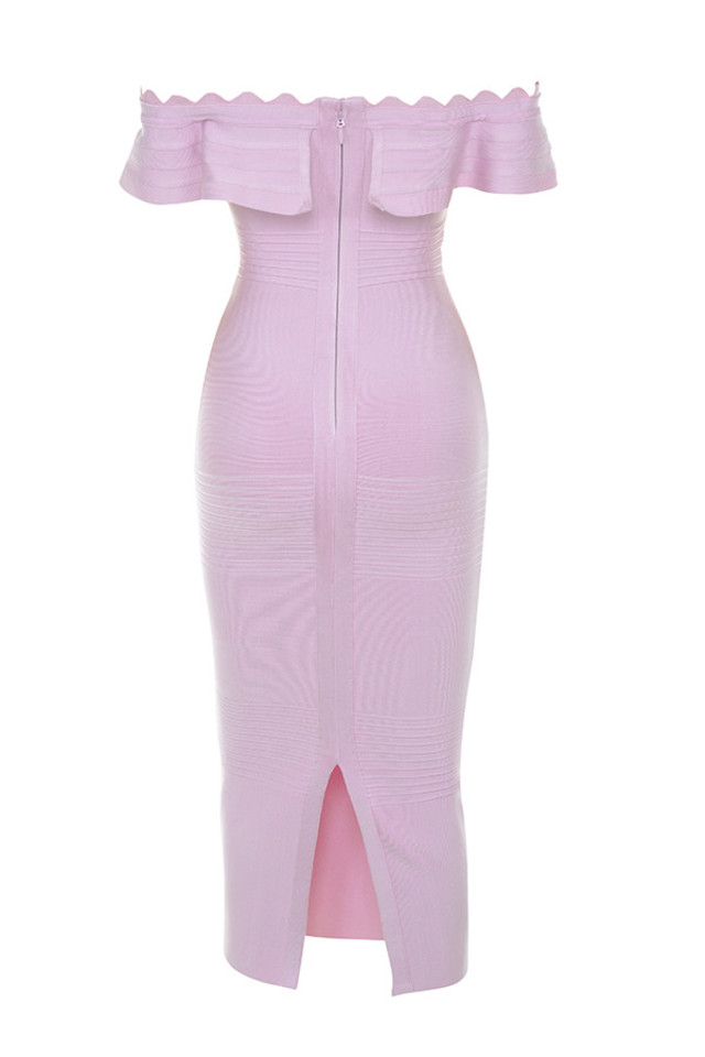 amadea dress in lilac