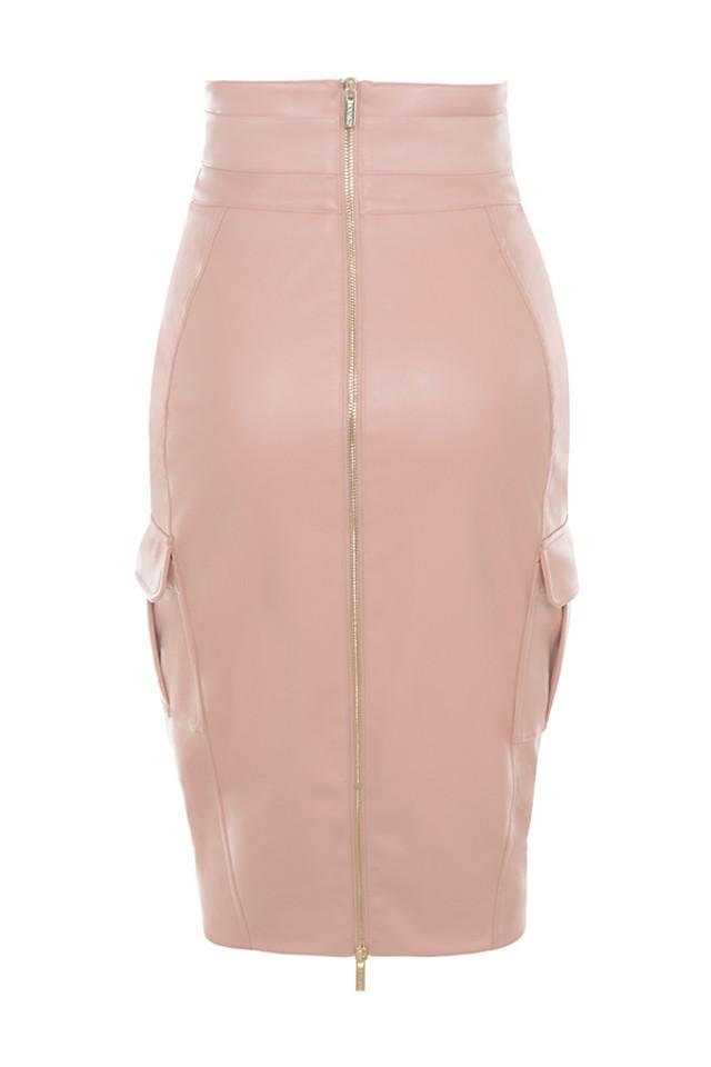 dominga skirt in blush