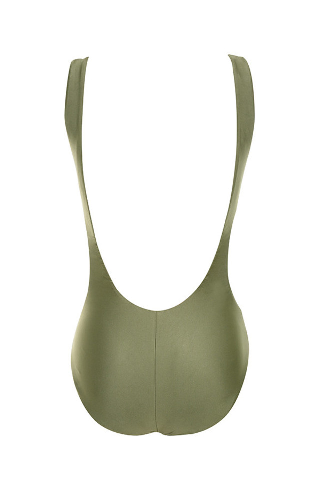 Ortigia swimsuit in khaki
