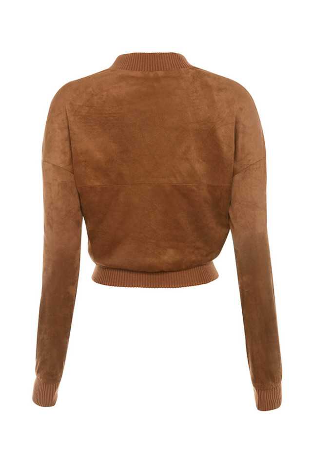 sadia jacket in tan