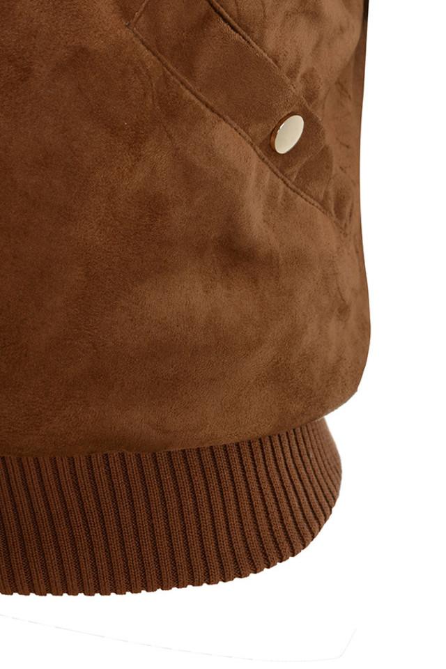 sadia brown jacket