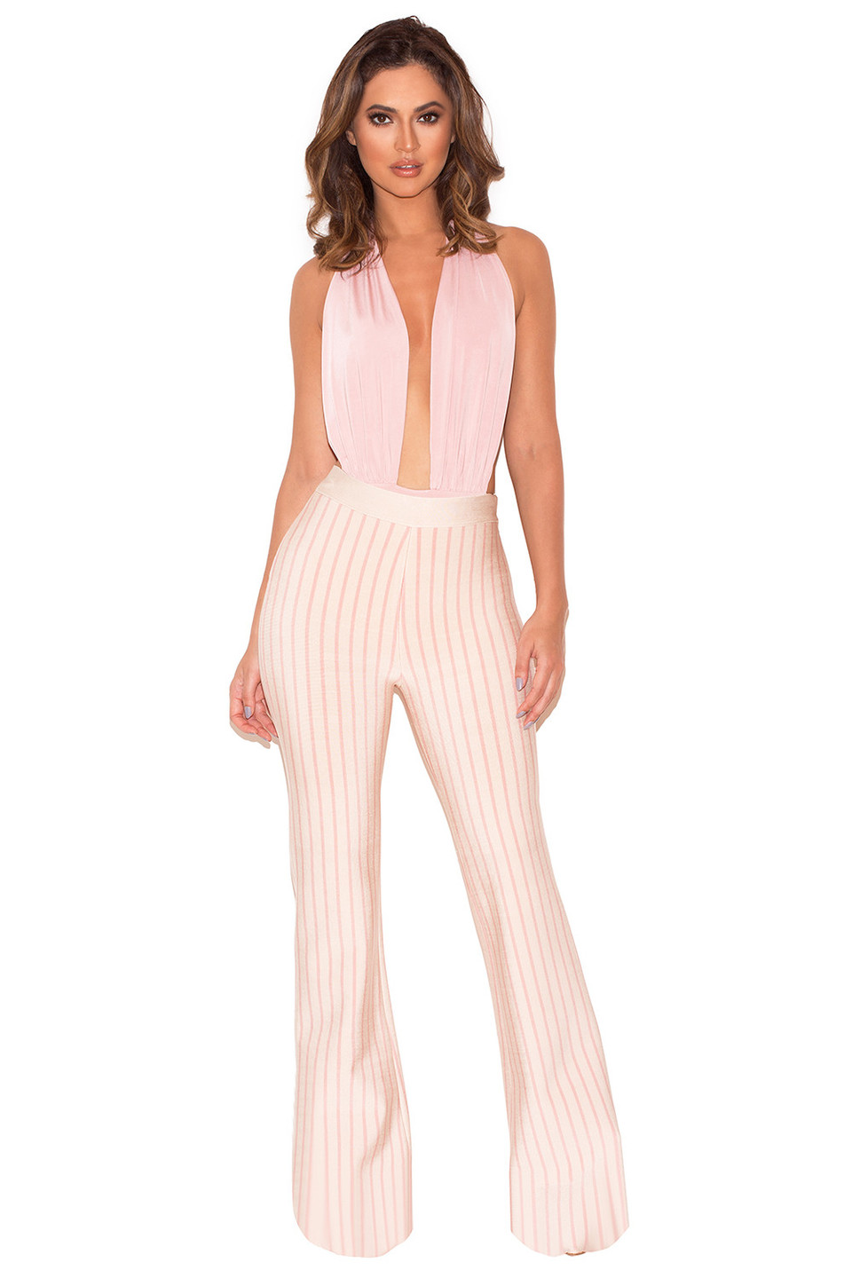 Madera Two Piece Trousers and Bodysuit Set