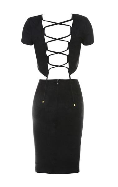 franco dress in black