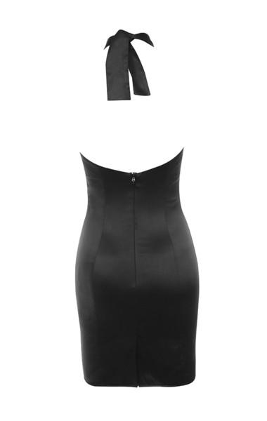 narin dress in black