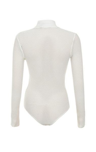 shadow bodysuit in cream