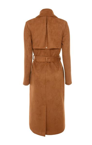 perrita coat in tan