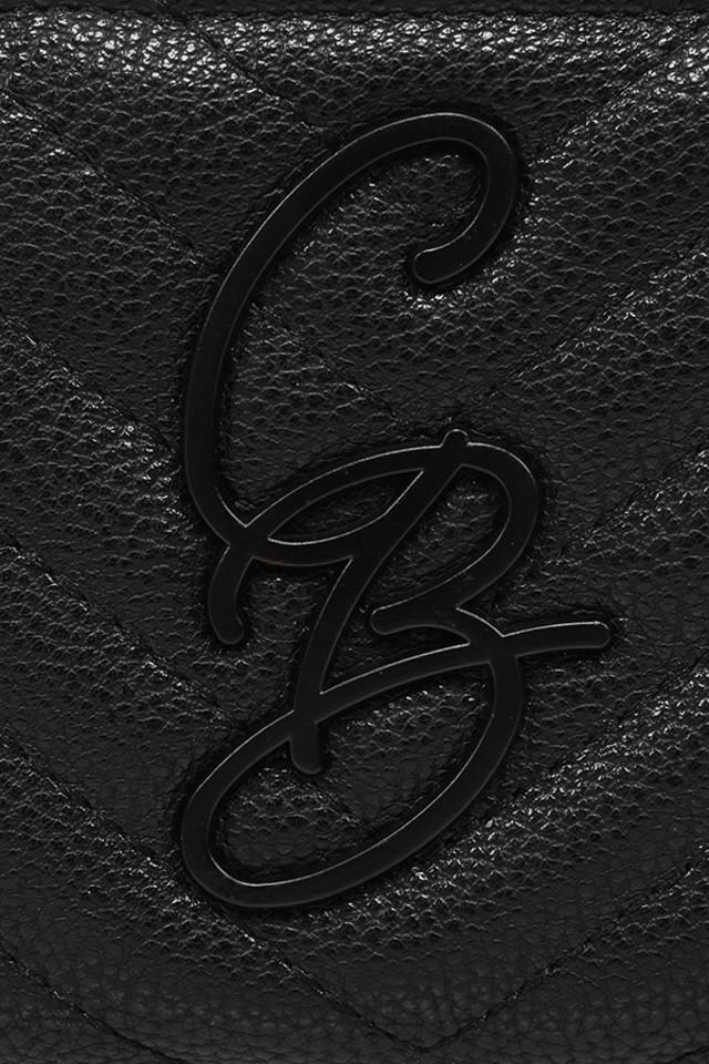 mini black purse