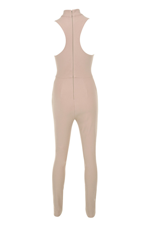 charnell jumpsuit in nude
