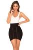 Orsina Black Bandage Lace Up Mini Skirt