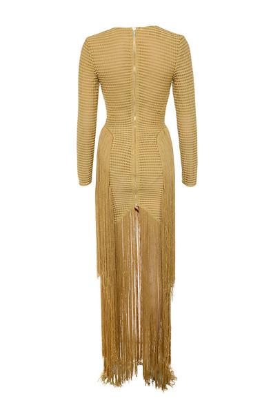 dakota dress in gold