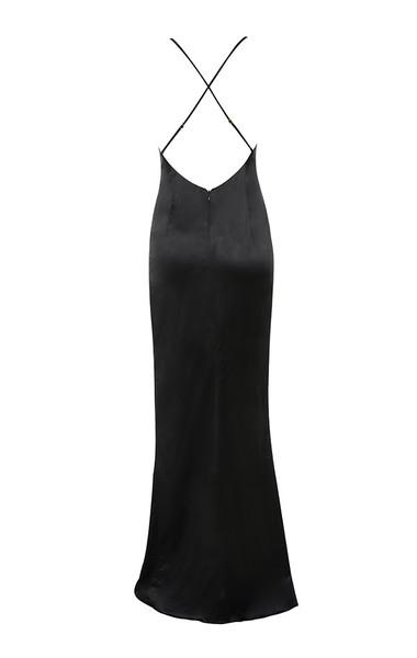 fairuz maxi in black