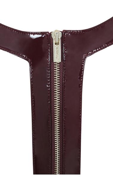 raveena burgundy dress