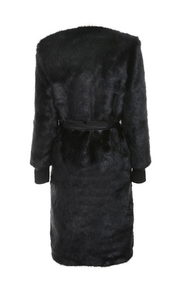 sable jacket in black