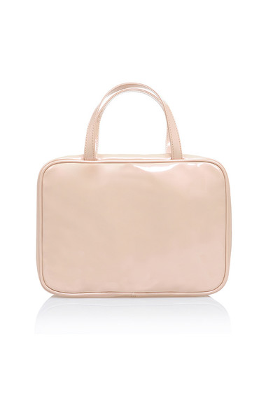toiletry case in nude