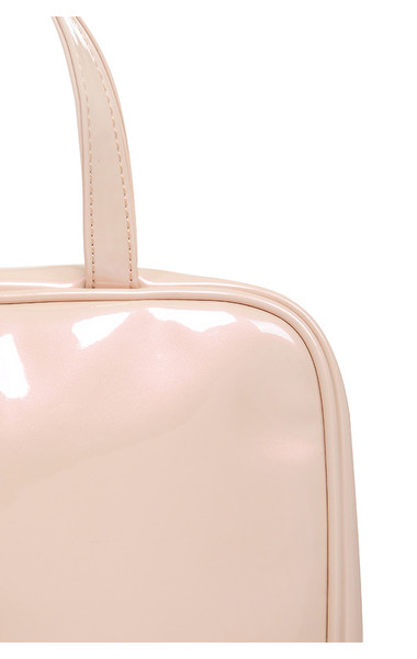 toiletry bag in nude