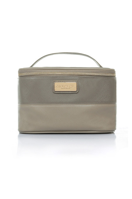 House of CB Mocha Cosmetic Case