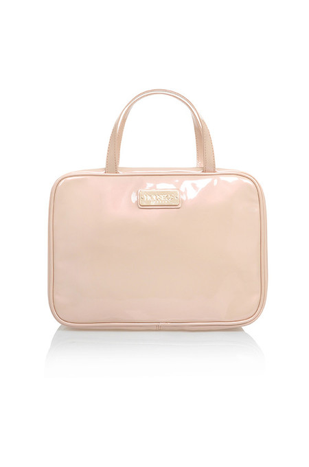 Nude Patent House of CB Hanging Travel Case