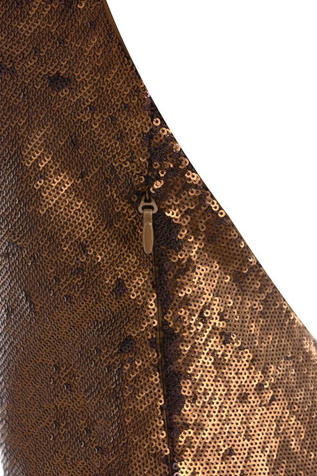 dacia brown dress