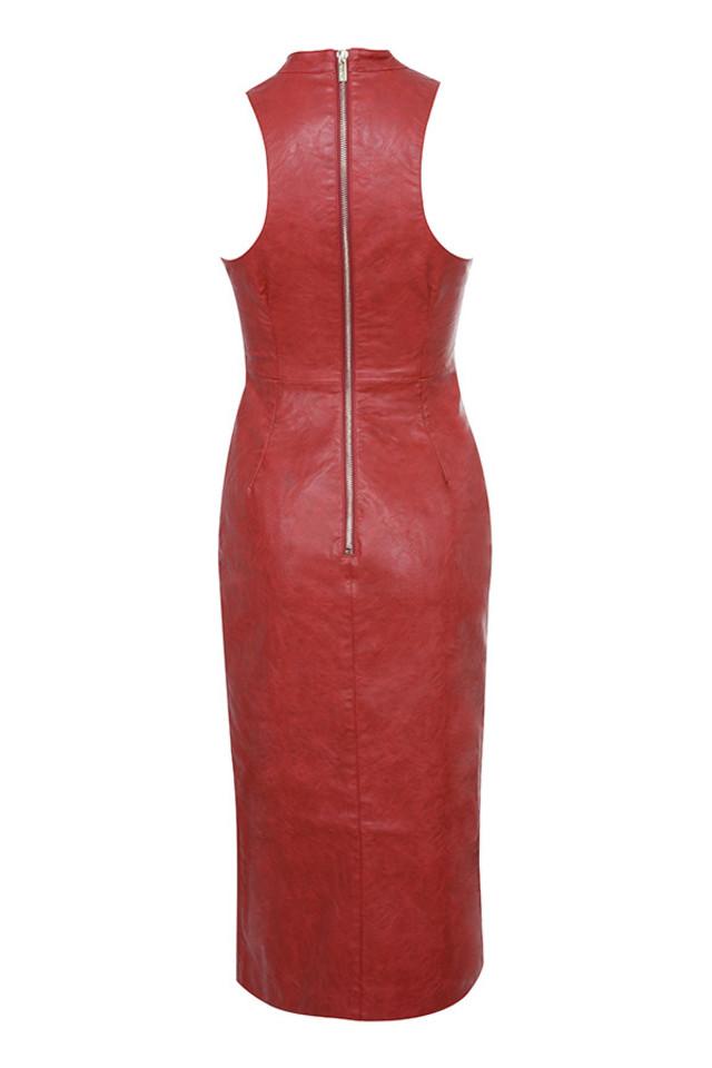 sanem dress in red
