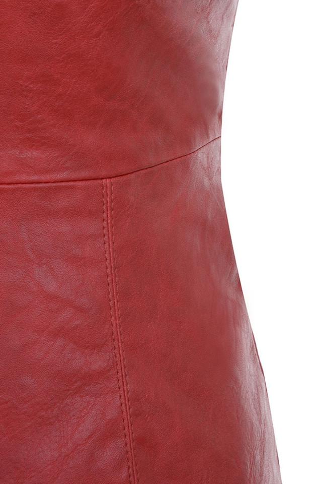 red sanem dress