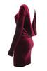 annika red in dress