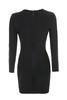 daniela dress in black