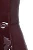 raveena dress in burgundy