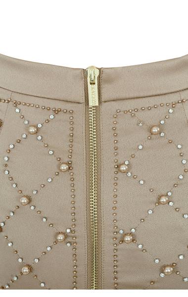 gold amira skirt