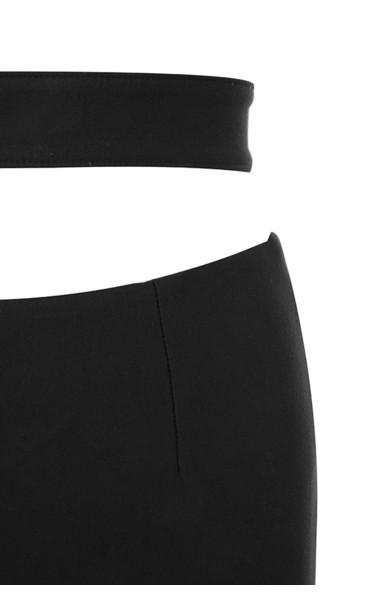 black celena jumpsuit