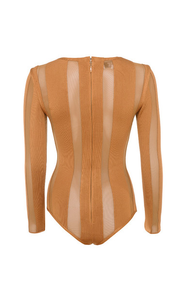 eviee bodysuit in amber