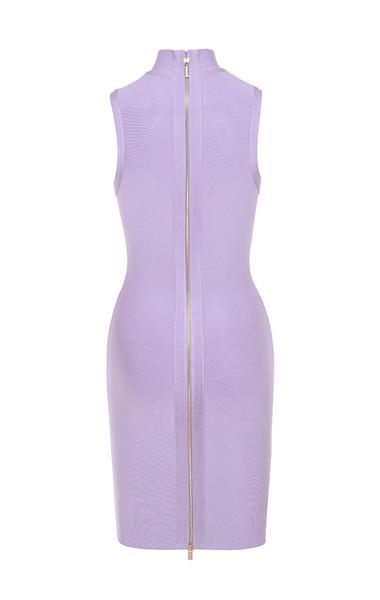 harun dress in lilac