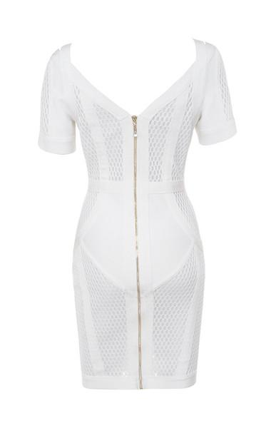 marinella dress in white