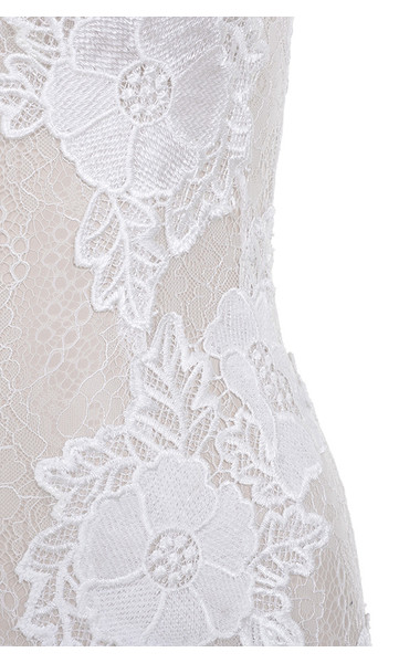 white salana dress